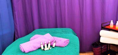Table massage + Fleurs Dr Bach